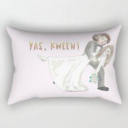 Yas, Kween! Rectangular Pillow