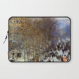 Claude Monet Boulevard Des Capucines Laptop Sleeve