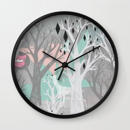 No End In Sight Wall Clock