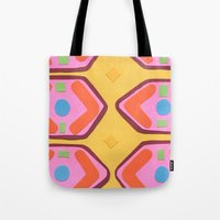deco Tote Bags featuring Deco by Hollis Campbell