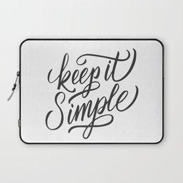 Keep it simple Laptop Sleeve