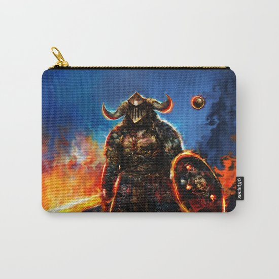 viking and his droid Carry-All Pouch