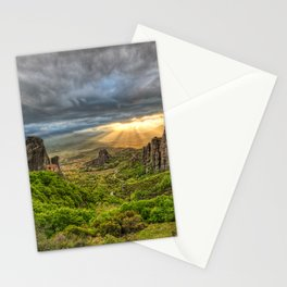 Monasteries on the top of Giant rocks seem miraculous and make Meteora one of the most spectacular places in Greece. Stationery Cards