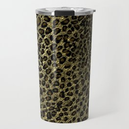 Leopard Print Art Travel Mug