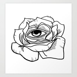 All Is Seen Art Print