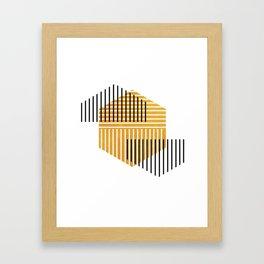 Modern Minimalist Mountain Framed Art Print