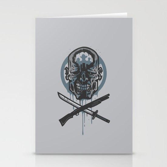 Dead Men Walking Stationery Cards