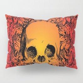 Skull Graphic Pillow Sham
