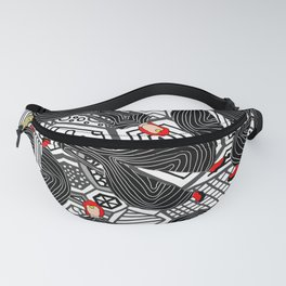 Heroes Fashion 6 Fanny Pack
