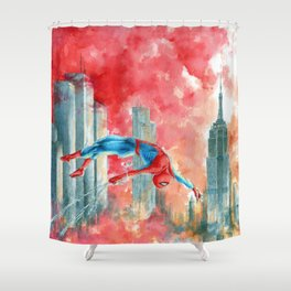 Dawn in NY Shower Curtain