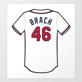 Brad Brach Jersey Art Print