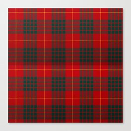 CAMERON CLAN SCOTTISH KILT TARTAN DESIGN Canvas Print