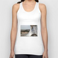 israel Tank Tops featuring  Anish Kapoor's sculpture, Israel Museum, Jerusalem by AntWoman