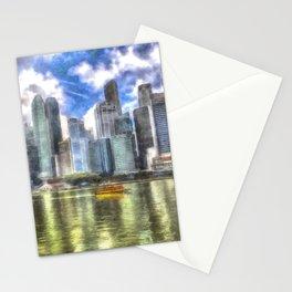 Singapore Marina Bay Sands Art Stationery Cards