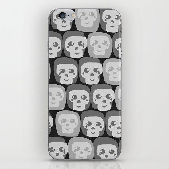 Boo - Skulls Pattern iPhone & iPod Skin