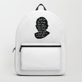 Ruth Bader Ginsburg Quote Backpack