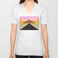 GREETINGS FROM PALM SPRINGS Unisex V-Neck