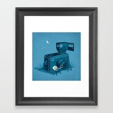Quitting Time Framed Art Print