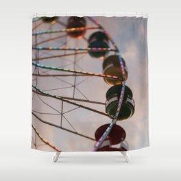 The Ferris Wheel Shower Curtain