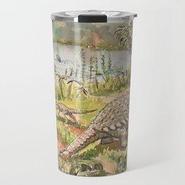 Dinosaur, Ankylosaurus Travel Mug