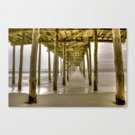 OC Fishing Pier Canvas Print