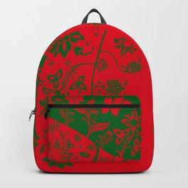 floral ornaments pattern rg Backpack