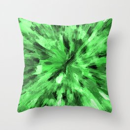 color explosion gogh pattern gode Throw Pillow