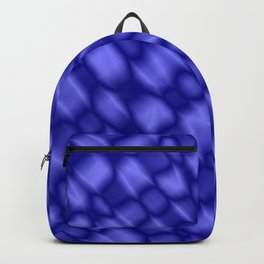 The intersection of poisonous droplets of a nautical grid of dark cracks on the glass. Backpack