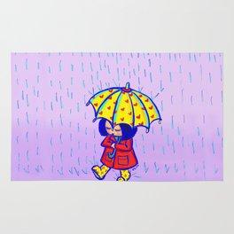 Rain, rain Rug