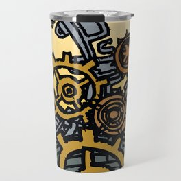 QUARTER TO FOUR Travel Mug