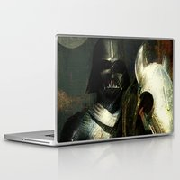 knight Laptop & iPad Skins featuring Knight Vader  by Joe Ganech
