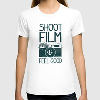 film T-shirts featuring Shoot Film by Victor Vercesi