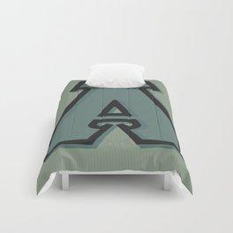 BOLD 'A' DROPCAP Comforters