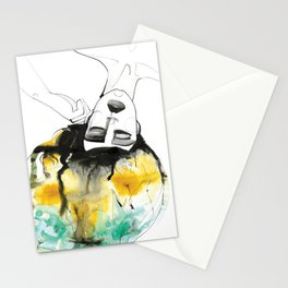 Sleeping Drag Queen Stationery Cards