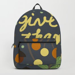 Give thanks Backpack
