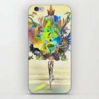 archan nair iPhone & iPod Skins featuring Aurantiaca by Archan Nair