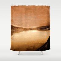 reservoir dogs Shower Curtains featuring Reservoir by Chris' Landscape Images & Designs