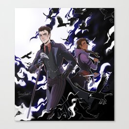 Six of Crows. Kaz and Inej Canvas Print