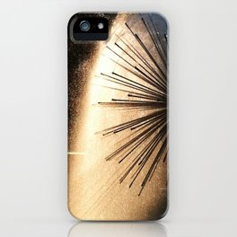Sunshine and Fountains iPhone Case