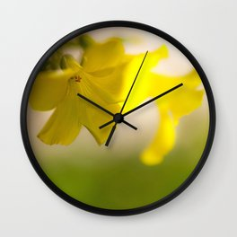 Bloomers Wall Clock