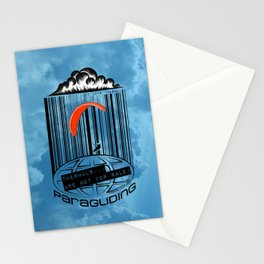 Paragliding: THERMAL ARE NOT FOR SALE! I love thermal. Stationery Cards