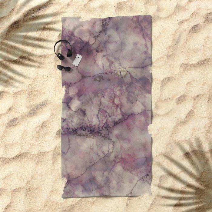 Mystic Marble Beach Towel