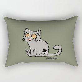 Cat - Brittisk shorthair Rectangular Pillow