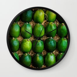 Box of Limes Wall Clock
