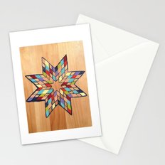 Star Quilt Block Stationery Cards