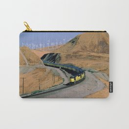 Chicago & Northwestern Train Through Altamont Pass Carry-All Pouch