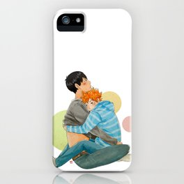 Sneak my hands under your shirt iPhone Case