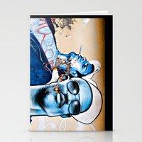 graffiti Stationery Cards featuring Graffiti  by Christine Fitzgerald Photography