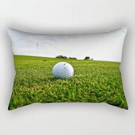 Golf Game Rectangular Pillow