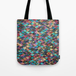 Colorful Geometric Pattern #08 Tote Bag